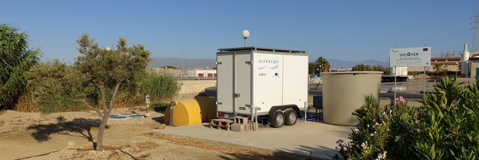 INCOVER Project| The AUTARCON INCOVER Pilot Station installed in Almeira in Spain