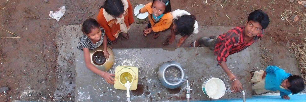 News| First remote village water supply in India starts operation